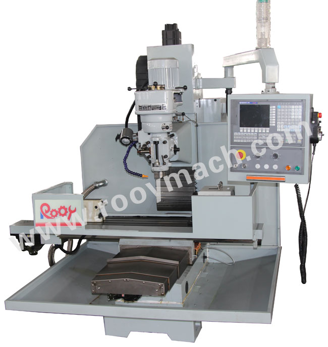 XK7125 simple CNC milling machine