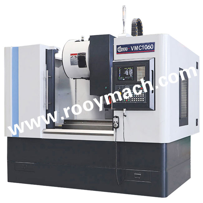 VMC1060 vertical CNC machine center with FANUC 0I MF controller